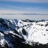 Ward Peak and ridge