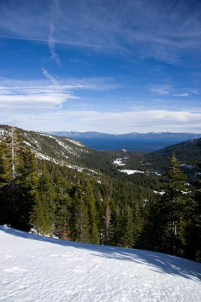 Blackwood Canyon and Lake Tahoe