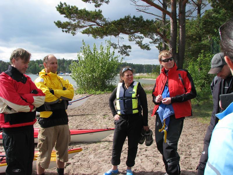Gunnar, Andreas, Eva och Jonas