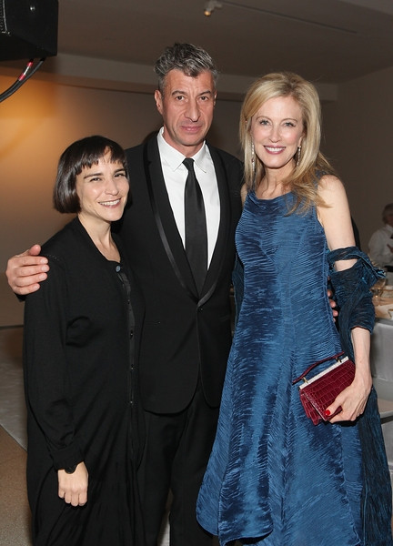 Nancy Spector, Maurizio Cattelan, Jennifer Stockman Photo Credit: Roger Kisby