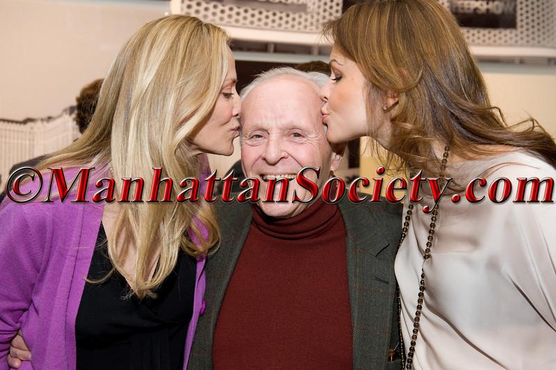 Bonnie Evans, ACE Founder Henry Buhl,  Laura Pozvolska