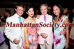 Roric Tobin, Chiu-Ti Jansen, Geoffrey Bradfield, Lucia Hwong-Gordon attend The Couture Council of The Museum at FIT Summer Party on Wednesday, August 17, 2011 at The Central Park Boathouse, East 72nd street and Park Drive North, Central Park, New York City, NY   PHOTO CREDIT: ©Manhattan Society.com 2011 by Christopher London