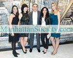 Vanessa Barrios, Maria Vasquez, Charles Zelaya, Amy Tanenbaum (Executive Vice President, Sicis North America), Kristina Gonzalez