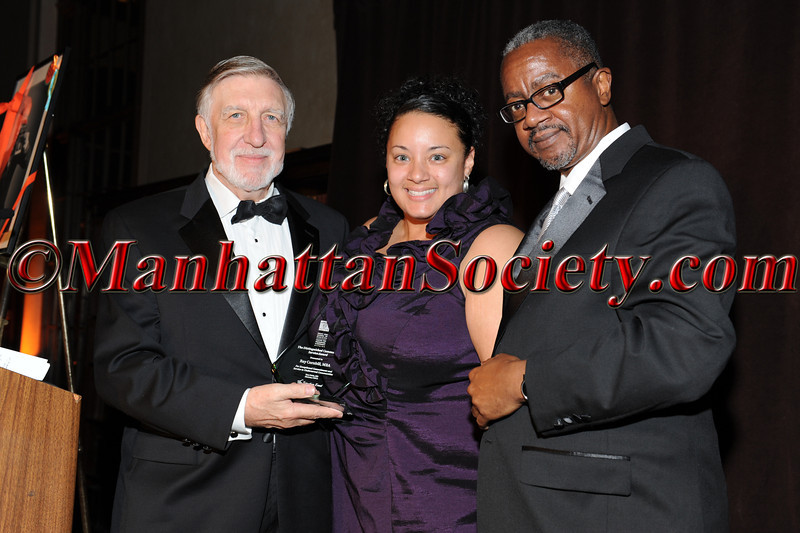 Honoree Ray Cornbill (Distinguished Community Service Award), MBA , Ann-Gel Palermo, MPH , Dr. Gary Butts, M.D.