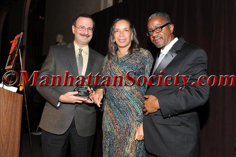 Dr. Mark Babyatsky M.D. , Honoree Dr. Lynne Richardson, M.D. (Outstanding Health Care Leadership Award),  Dr. Gary Butts M.D.