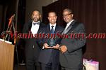 Dr. Reginald Miller DVM ,  Honoree Dr. Marc Nivet EdD (Diversity Leadership Award) , Dr. Gary Butts, M.D.