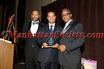 Dr. Reginald Miller DVM ,  Honoree Dr. Marc Nivet EdD (Diversity Leadership Award) , Dr. Gary Butts, M.D.