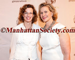 "Michelle Nunn, Laurie M. Tisch attend The Tenth Annual GENERATION ON ""Art of Giving"" Benefit on Thursday, May 26, 2011 at 583 Park Avenue, New York City, NY.   PHOTO CREDIT: Copyright ©Manhattan Society.com 2011 by Chris London"