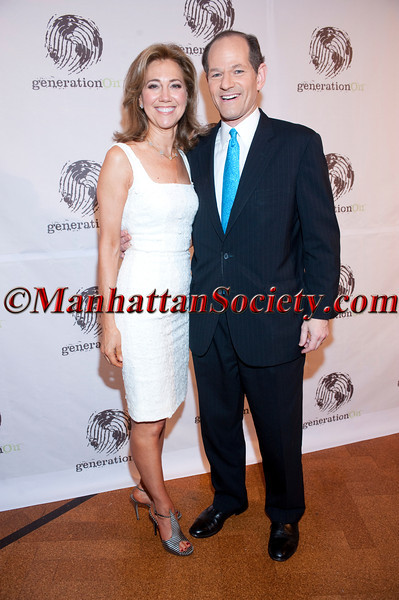 "Silda Wall Spitzer, Eliot Spitzer attend The Tenth Annual GENERATION ON ""Art of Giving"" Benefit on Thursday, May 26, 2011 at 583 Park Avenue, New York City, NY.   PHOTO CREDIT: Copyright ©Manhattan Society.com 2011 by Chris London"