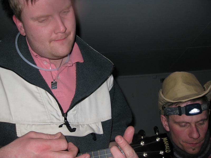 Bessi með ukulele