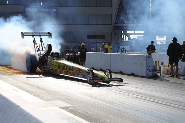 Top Alcohol Dragster Burnouts