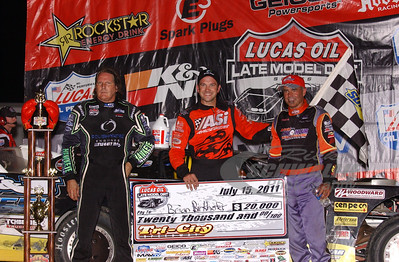 Scott Bloomquist, Brian Birkhofer, Billy Moyer