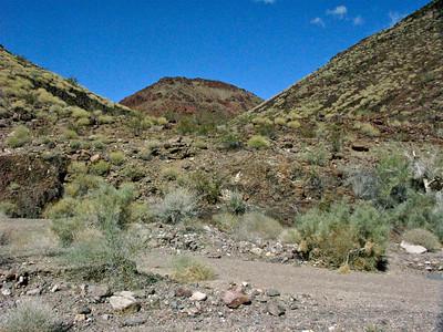 Hidden Ravine from Mopah Wash