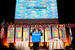"<a href=""http://www.financo.com/financo/bankers/harrison.php""target=""_blank"">Gilbert Harrison</a>,  the chairman and founder of Financo addresses guests at UJA-Federation of New York's Annual Fashion Luncheon Honoring Frank Doroff & Steven B. Tanger on Tuesday, April 5, 2011 at Cipriani 42nd Street, New York City, NY PHOTO CREDIT: Copyright ©Manhattan Society.com 2011 by Christopher London"