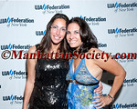 "Lisa Silverstein, Emily Frances attend UJA-Federation of New York's Downtown Division first annual downtown event — ""Party On Top of the World"" on Wednesday, May 11, 2011, at 7 World Trade Center, New York City  PHOTO CREDIT: ©Manhattan Society.com 2011"