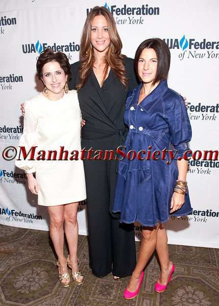"""Darcy Miller Nussbaum, Stephanie Winston Wolkoff, Robert Verdi and Jessica Seinfeld attend UJA-FEDERATION OF NEW YORK'S """"Women of Influence"""" Luncheon on Thursday, May 19, 2011 at 583 Park Avenue, New York City, NY   PHOTO CREDIT: Copyright ©Manhattan Society.com 2011 by Chris London"""