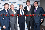 Alfonso Kimche, Larry Silverstein, Bram D. Weber, Lloyd Goldman, Justin Green attend UJA-FEDERATION OF NEW YORK 2011 Annual Rex Gala Awarding THE LARRY A. SILVERSTEIN REX AWARD to BRAM D. WEBER on Thursday, March 24, 2011 at Grand Hyatt New York, 109 East 42nd Street at Grand Central Terminal, New York City. PHOTO CREDIT: Copyright ©Manhattan Society.com 2011 by Christopher London