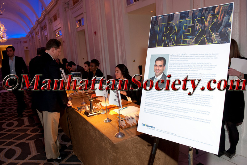 UJA-FEDERATION OF NEW YORK 2011 Annual Rex Gala Awarding THE LARRY A. SILVERSTEIN REX AWARD to BRAM D. WEBER on Thursday, March 24, 2011 at Grand Hyatt New York, 109 East 42nd Street at Grand Central Terminal, New York City. PHOTO CREDIT: Copyright ©Manhattan Society.com 2011 by Christopher London