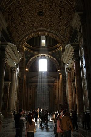 Muzeul Vatican si bazilica Sf. Petru - Octombrie 2011