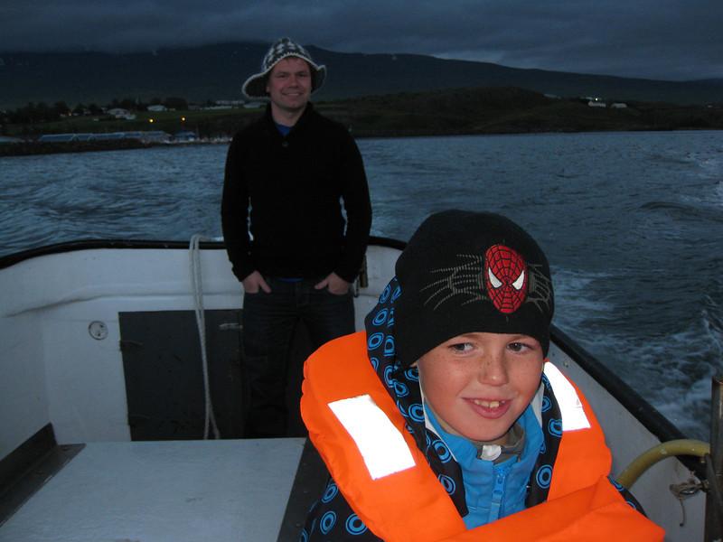 Flottir feðgar