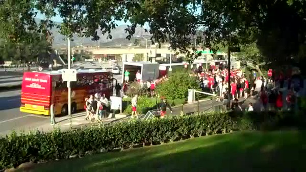 Video Day 1  12-28-2011 ROSE BOWL