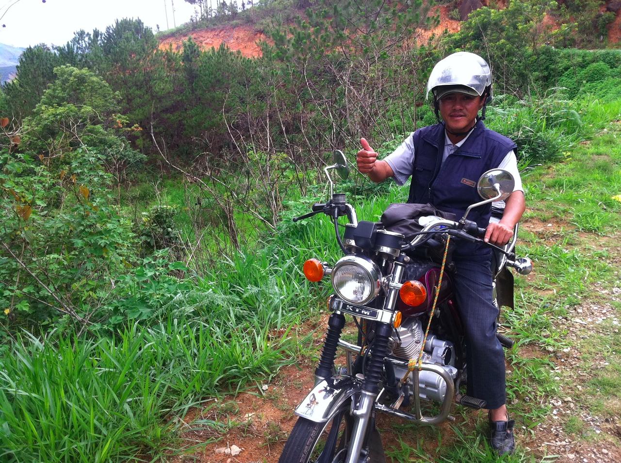 Easy rider Mr Hiep