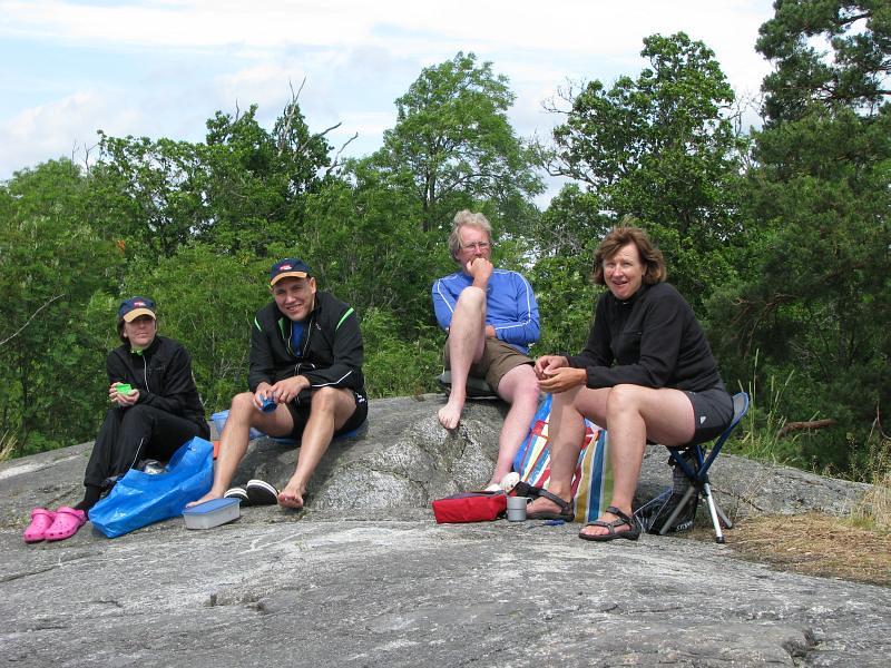 Cecilia, Asad, Ulf och Alice