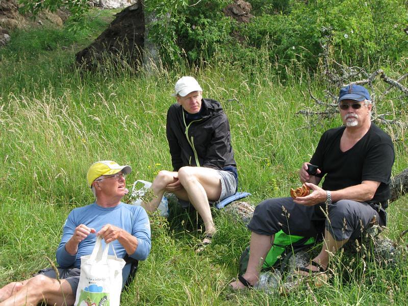 Kjelle, Patrik och Guy