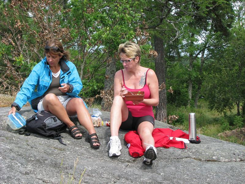 Louise och Karin