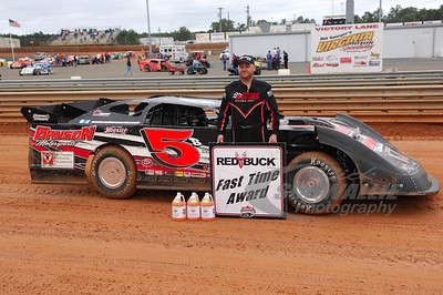 Mike Marlar won the Red Buck Cigars Fast Time Award