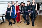 Designer Von Sargasian, Emma Snowdon Jones & models wearing Von Vonni attend Von Vonni 2011 Fall Collection Presentation on Tuesday, February 15, 2011 in New York City, NY. (PHOTO CREDIT: ©Manhattan Society.com 2011)