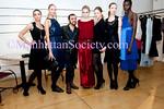 Designer Von Sargasian & models wearing Von Vonni attend Von Vonni 2011 Fall Collection Presentation on Tuesday, February 15, 2011 in New York City, NY. (PHOTO CREDIT: ©Manhattan Society.com 2011)