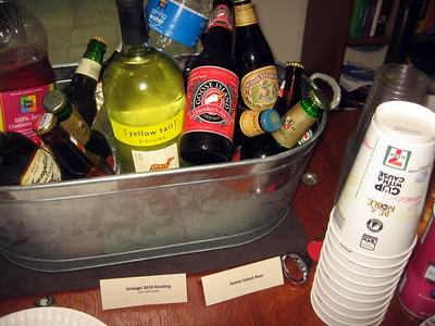 Vintage 2010 Riesling (Oh, That's Old); Goose Island Beer; 7-11 Cups