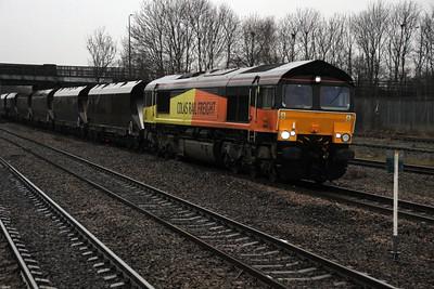 66848 1447-6D86 Wolsingham-Scunthorpe, Stainforth.