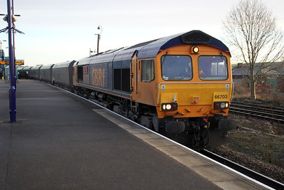 66703 0913-6c09 Immingham-Eggboro, Barnetby.