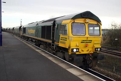 66953 1006-6R60 Immingham-Drax, Barnetby.