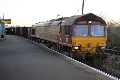 66134 0835-6T22 Immingham-Santon, Barnetby.