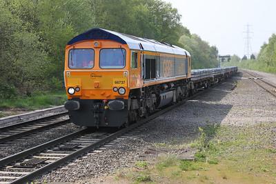 66737  4F40 Washwood Heath-Wellingboro
