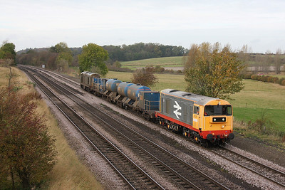 20227 Barnetby 31/10/11 3S13 Wrenthorpe to Grimsby