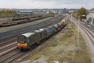 20189 Scunthorpe 31/10/11 3S14 Grimsby to Malton