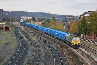 66508 Scunthorpe 31/10/11 6M07 Roxby to Pendleton empty binliner