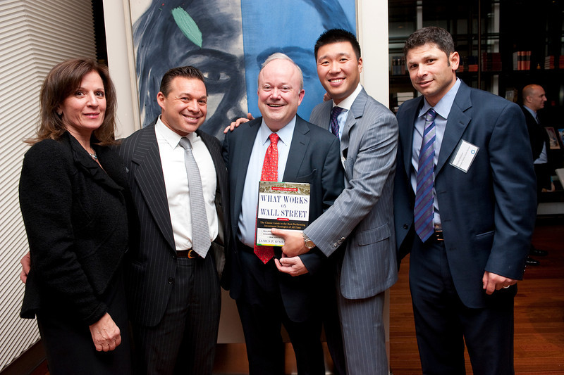 """What Works on Wall Street"" by Jim O'Shaughnessy Book Party Co-hosted by MOLDAVER-CHREBET GROUP"