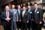 "Jim O'Shaughnessy,  James Lee, VIP Guest, Ed Moldaver, Wayne Chrebet, Nick Ponzio attend    ""What Works on Wall Street"" by Jim O'Shaughnessy Book Party Co-hosted by MOLDAVER-CHREBET GROUP on Wednesday, November 9, 2011 at The Core Club, 66 East 55th Street, 4th Floor Library, New York, NY.  PHOTO CREDIT:  ©Manhattan Society.com by Christopher London"