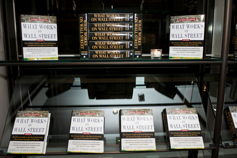 """What Works on Wall Street"" by Jim O'Shaughnessy Book Party Co-hosted by MOLDAVER-CHREBET GROUP on Wednesday, November 9, 2011 at The Core Club, 66 East 55th Street, 4th Floor Library, New York, NY.  PHOTO CREDIT:  ©Manhattan Society.com by Christopher London"