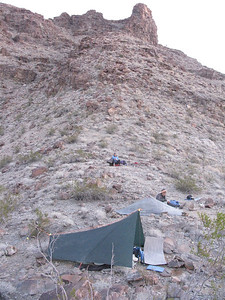 Camp on ridge