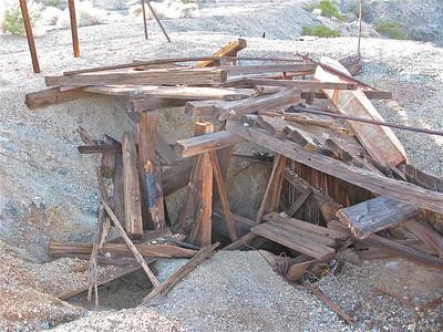 D & W mine shaft