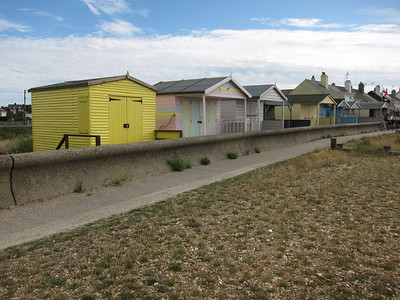 More beach huts nearby