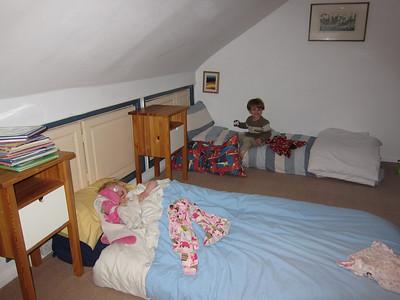 Kids in their room