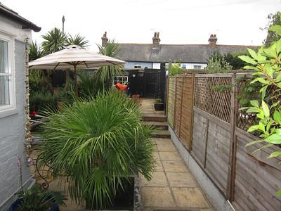 Full view of garden