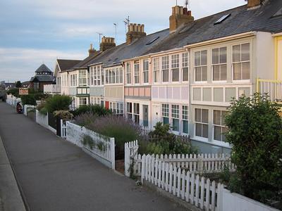 Houses behind Old Neptune